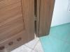 Wykończenie płytkami linii drzwi