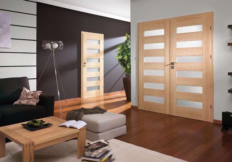 Aranżacja apartamentu z drzwiami porta